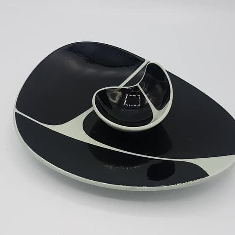 デンマーク Nymolle製 キドニープレートセット *目立たない小傷アリ  /HG009(DK019B)
