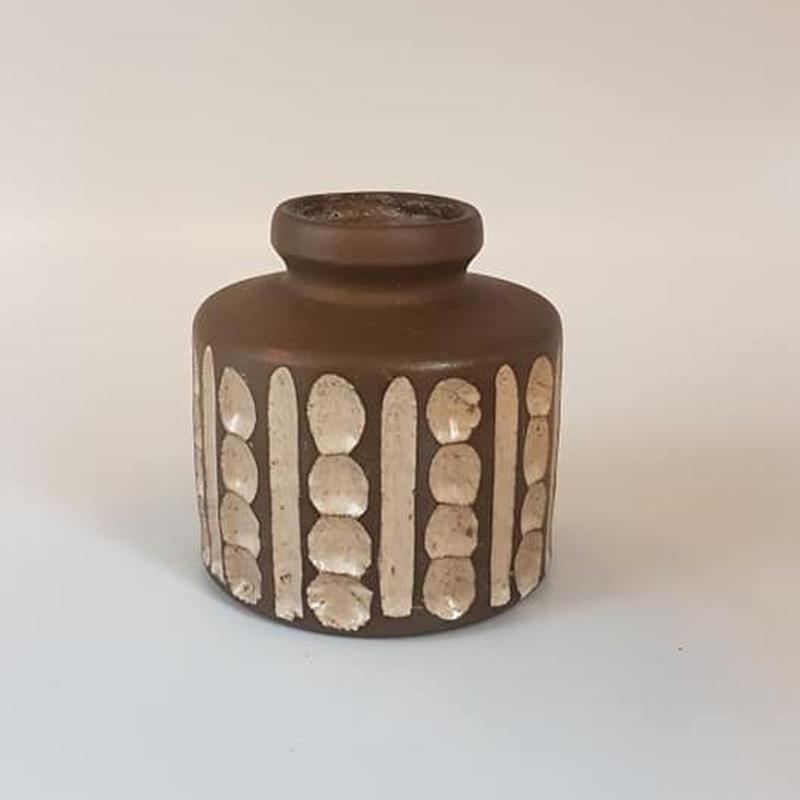 DDR Studio keramik ブラウンミニベースB   DK023