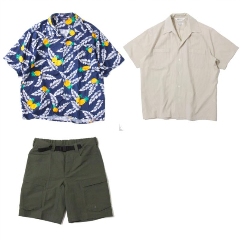 Shirt x 2 , Shorts x 1
