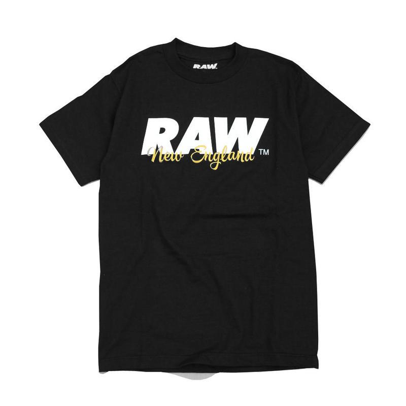 RAW Embroidery S/SL Tee ロー