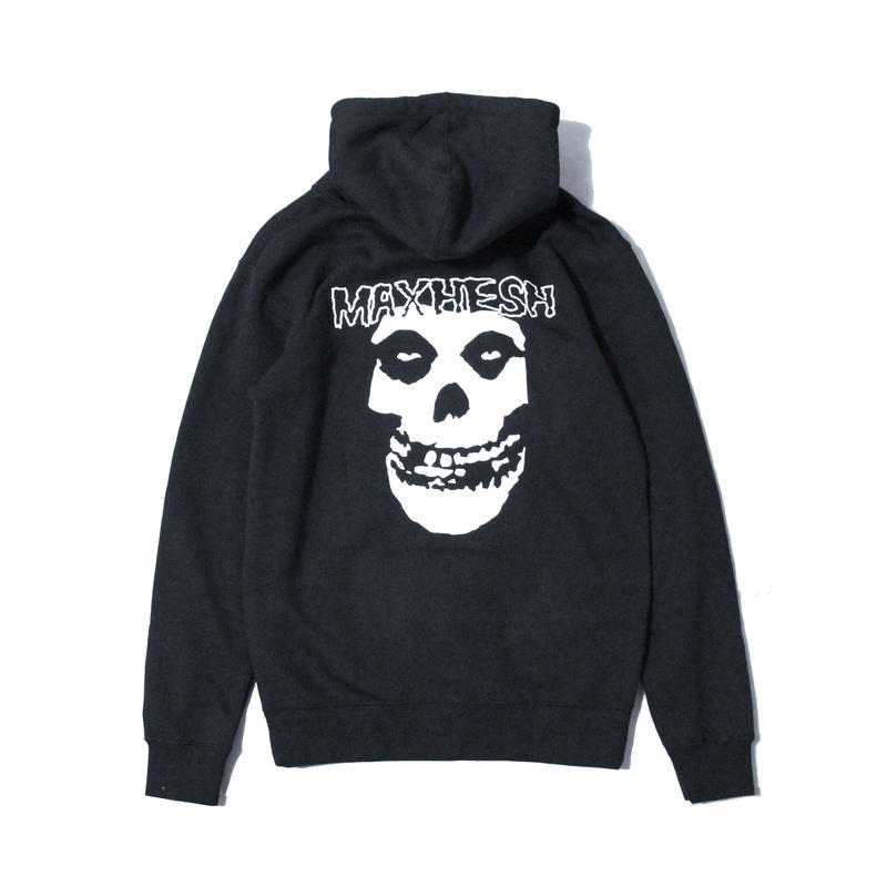 MAX HESH X MISFITS X BLACK FLAG TRIBUTE ZIP HOODIE