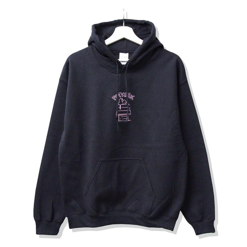 PITY SEX DROOPCITY HOODIE Black x Pink <Stockroom Exclusive>