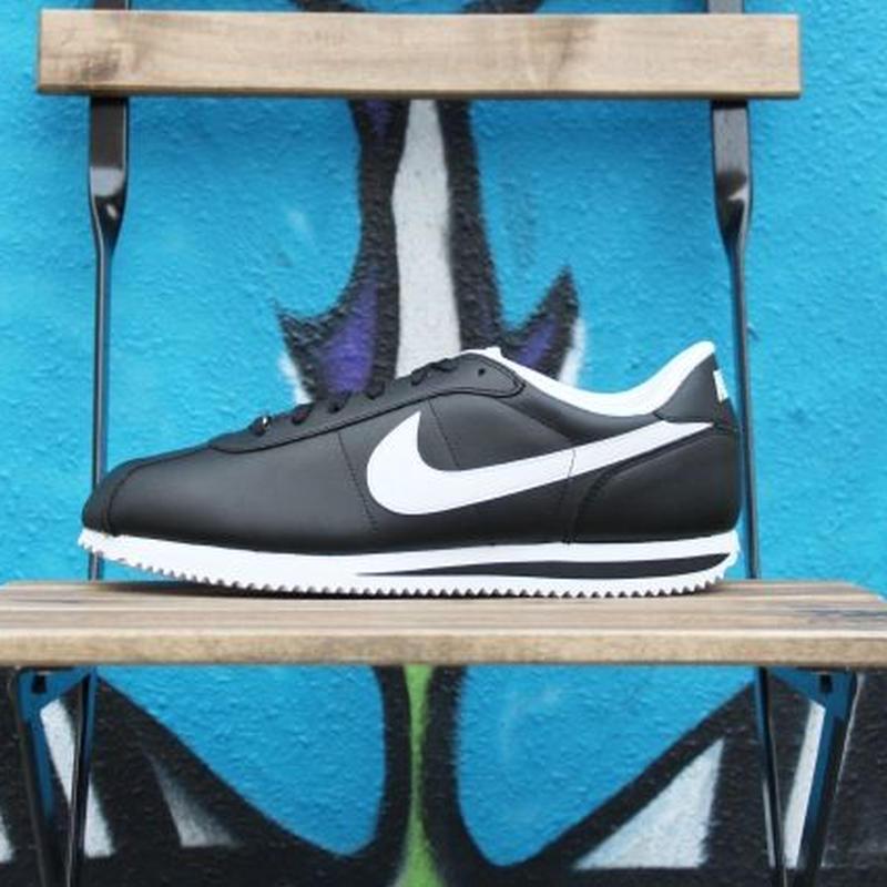 Nike Cortez Basic Leather 06' Black/White ナイキ コルテッツ レザー