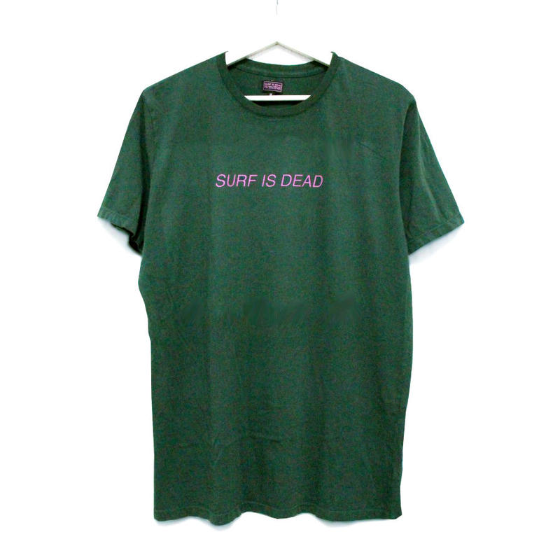 SURF IS DEAD ASLEEP IN THE ALLEY TEE サーフイズデッド