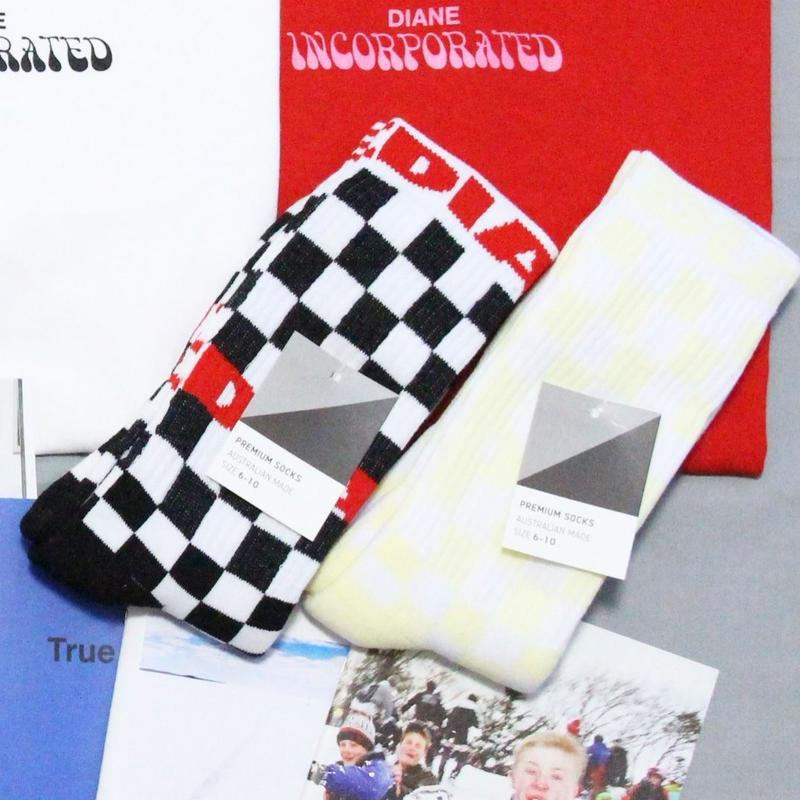 Diane Inc. club socks (2 pairs)