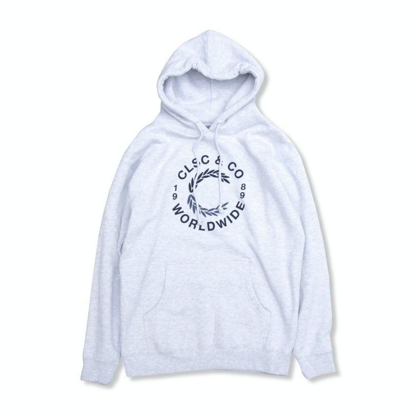 CLSC C Hoodie Grey x Navy シーエルエスシー