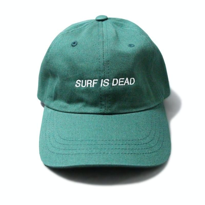 SURF IS DEAD ASLEEP HAT <Forest> サーフイズデッド