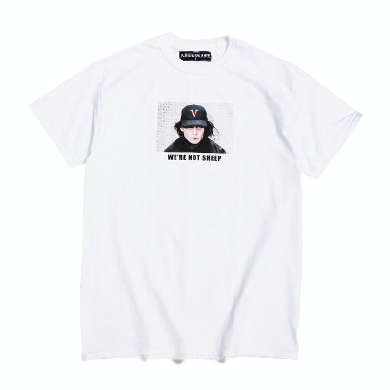 "After Life NOT SHEEP TEE ""Johnny Depp"""