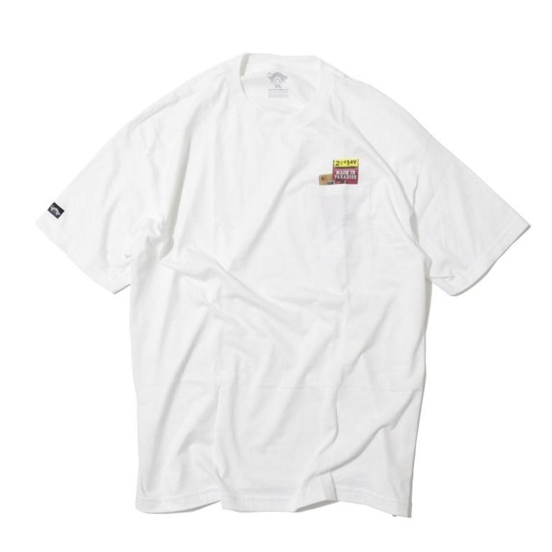 Made In Paradise POCKET SUPPLIES TEE <White>