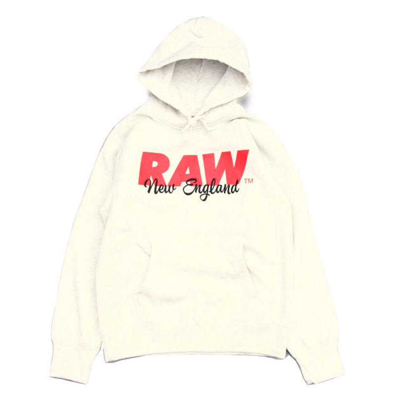 RAW New England Sweat Hoodie ( Oatmeal ) ロー ニューイングランド スウェット フーディ オートミール