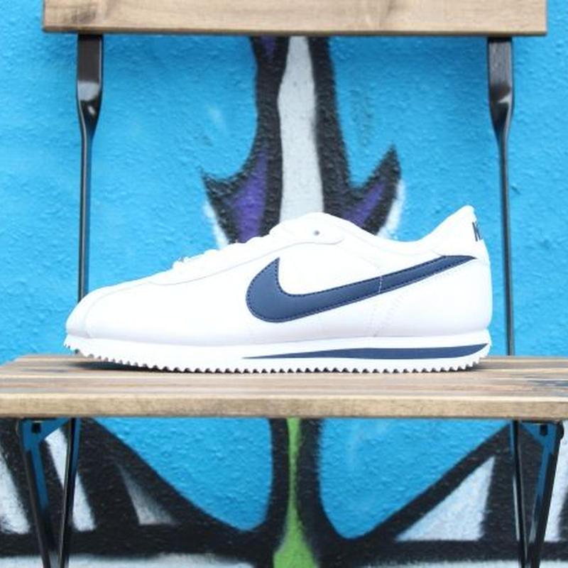 Nike Cortez Basic Leather 06' White/Navy ナイキ コルテッツ レザー