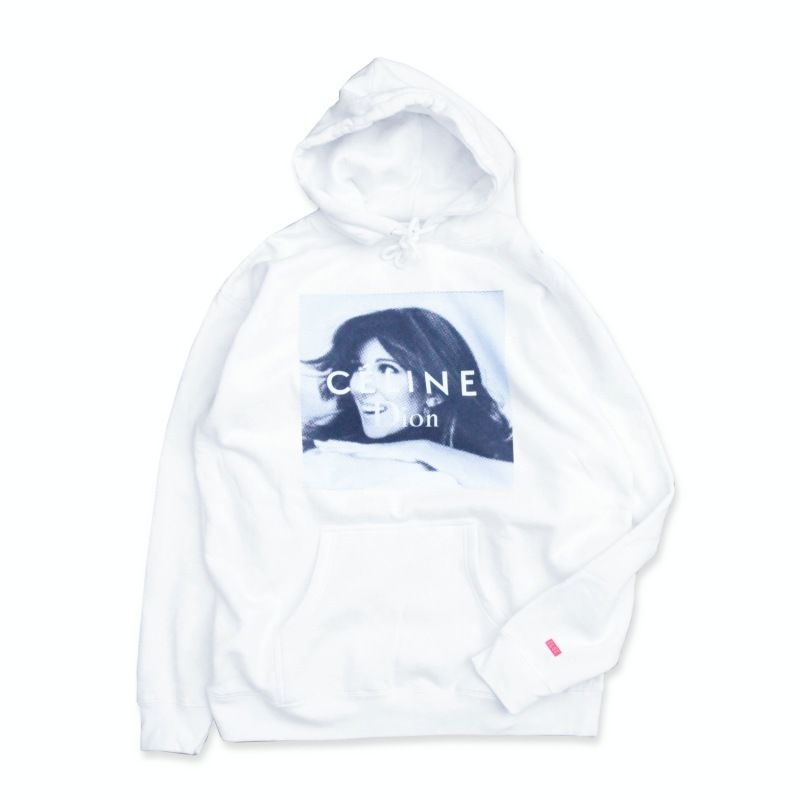 CLSC Celine Dion Hoodie White シーエルエスシー