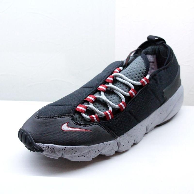Nike Air Footscape Black x Red ナイキ エアフットスケープ ブラック レッド