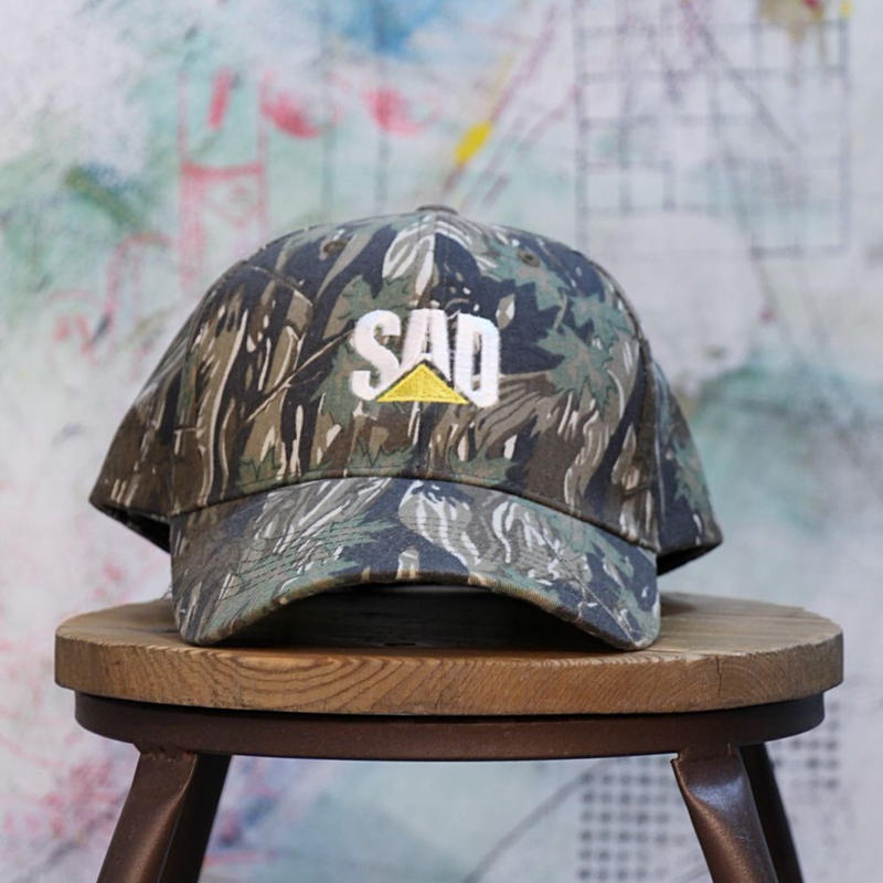 "Portfreemans  ""SAD CAMO LOW PROFILE""  CAP ポートフリーマンズ キャップ"