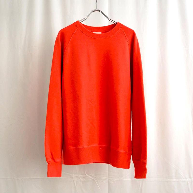 URU TOKYO / CREW NECK SWEAT COL:RED