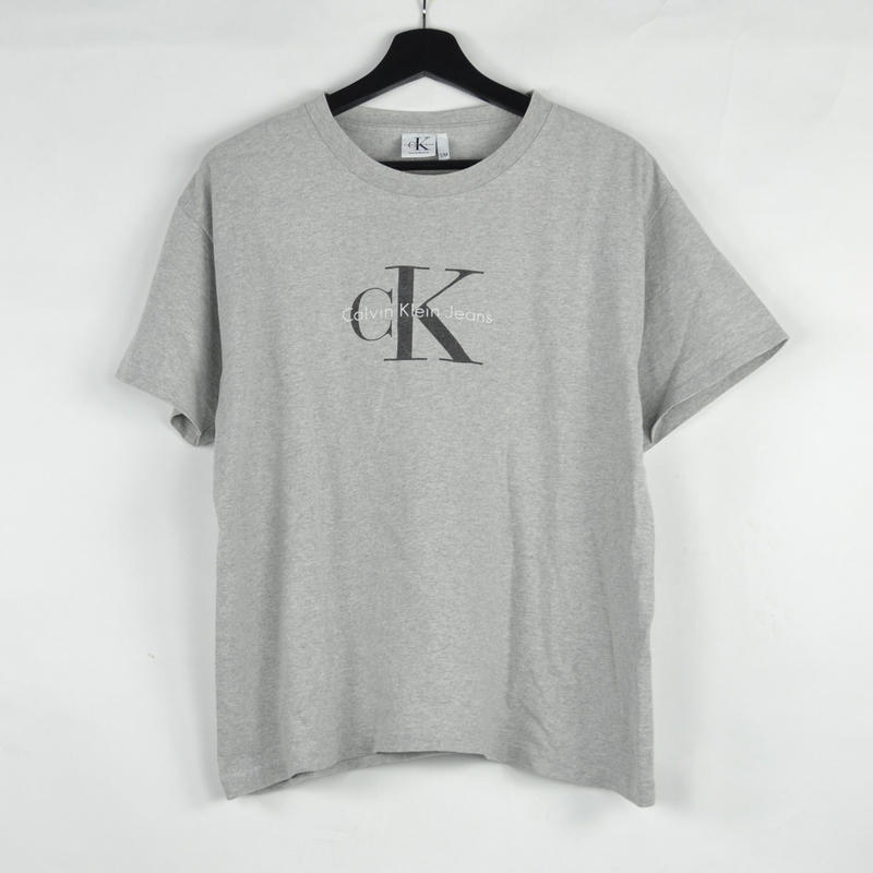 CALVIN KLEIN / S/S T-SHIRTS(USED) COL:GREY NO.59