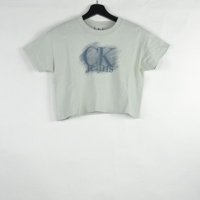 CALVIN KLEIN / S/S T-SHIRTS(USED) COL:BLUE NO.77