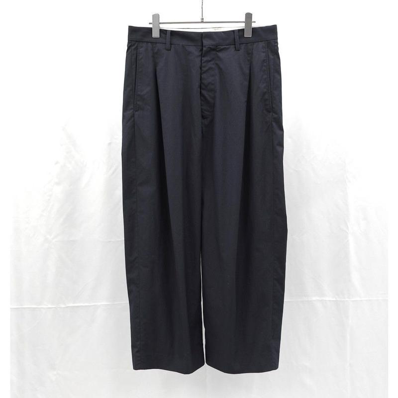 URU TOKYO / 1TUCK PANTS (TYPE B) COL:NAVY