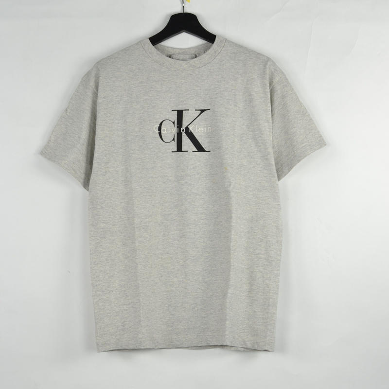 CALVIN KLEIN / S/S T-SHIRTS(USED) COL:GREY NO.75