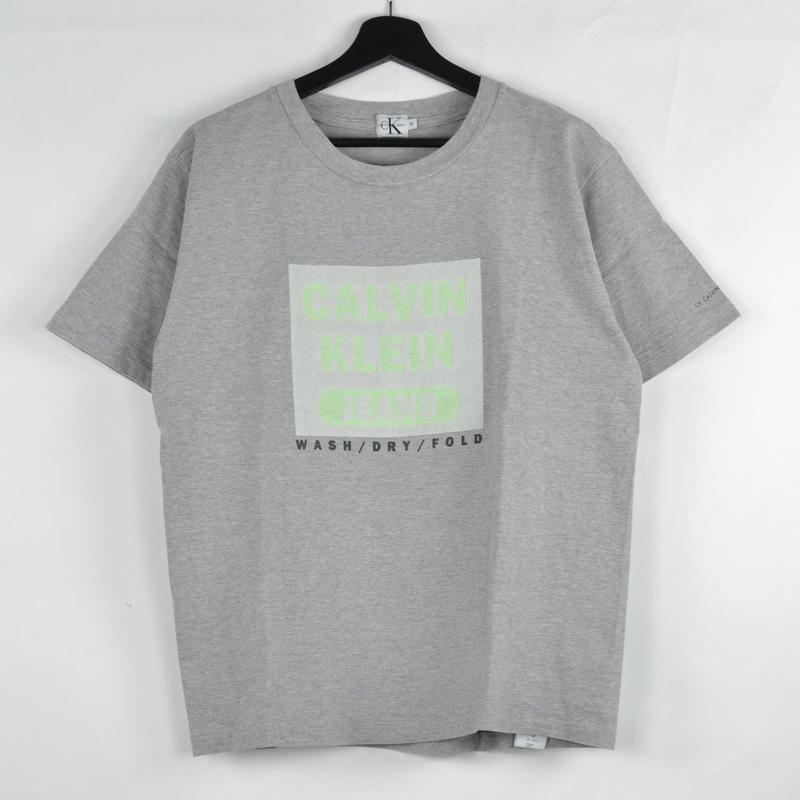CALVIN KLEIN / S/S T-SHIRTS(USED) COL:GREY NO.72