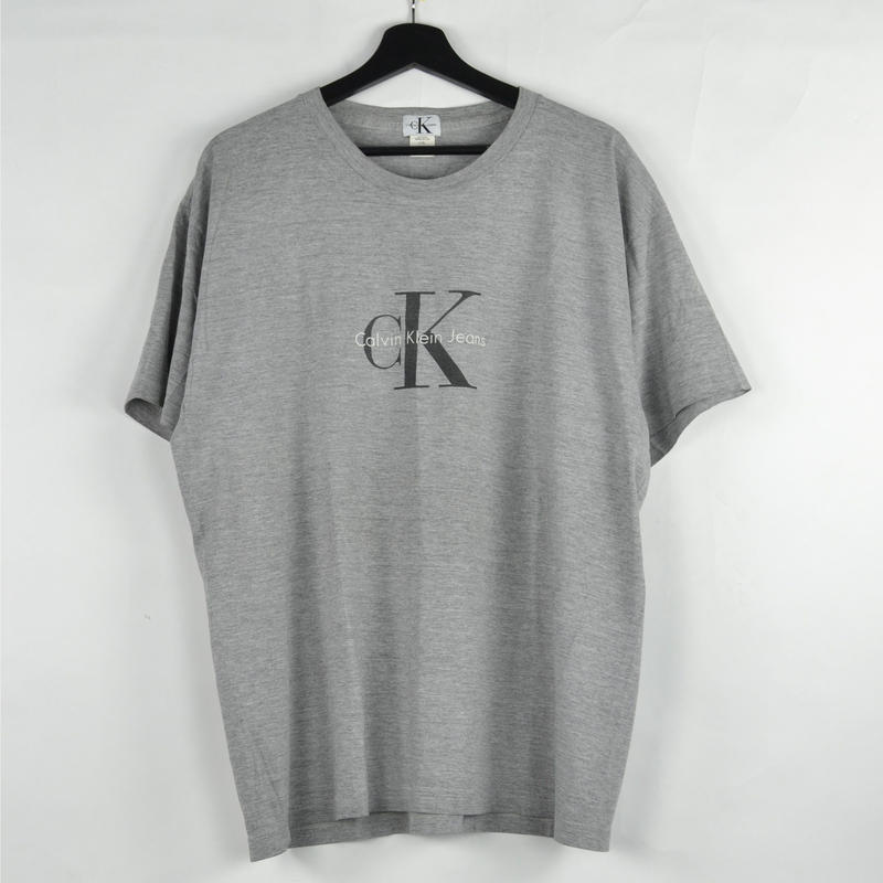 CALVIN KLEIN / S/S T-SHIRTS(USED) COL:GREY NO.74