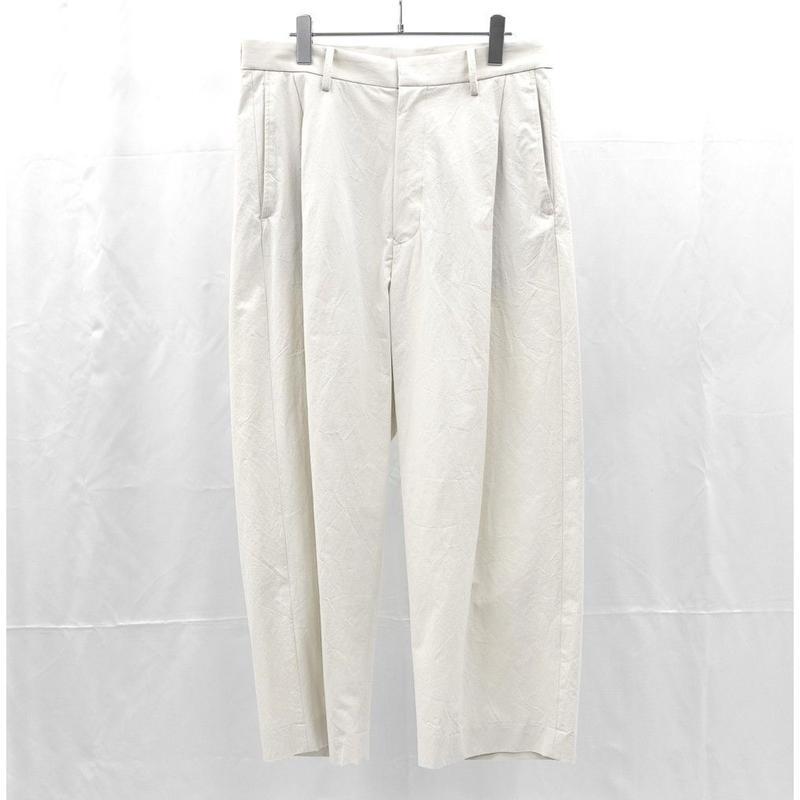 URU TOKYO / 1TUCK PANTS (TYPE A) COL:IVORY