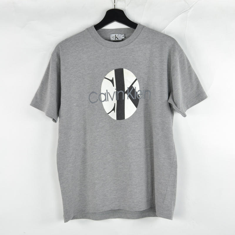 CALVIN KLEIN / S/S T-SHIRTS(USED) COL:GREY NO.53
