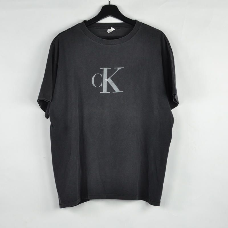 CALVIN KLEIN / S/S T-SHIRTS(USED) COL:BLACK NO.61