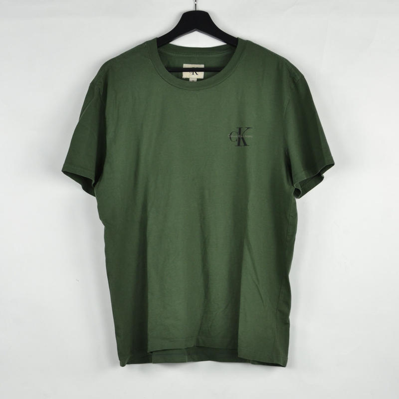 CALVIN KLEIN / S/S T-SHIRTS(USED) COL:GREEN NO.58