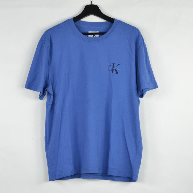 CALVIN KLEIN / S/S T-SHIRTS(USED) COL:BLUE NO.57