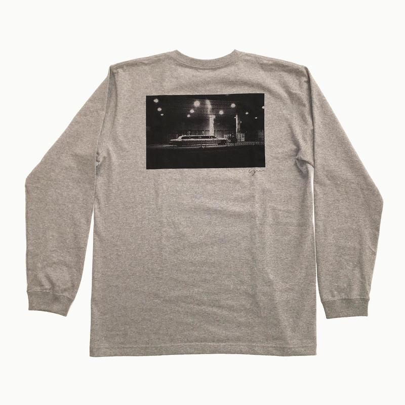 """limousine"" tee  GRAY【Long Tshirt】"
