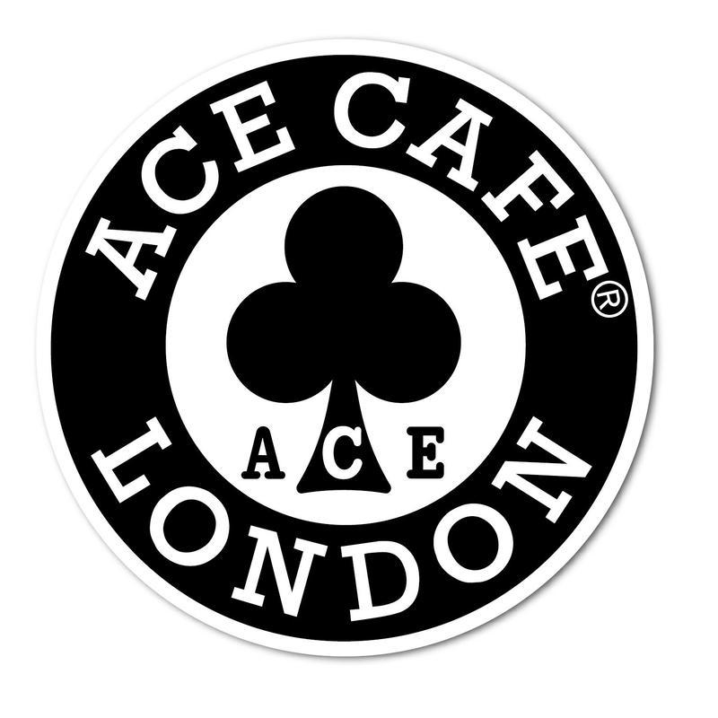 N016DE/ACE CAFE LONDON デカール サークル 200