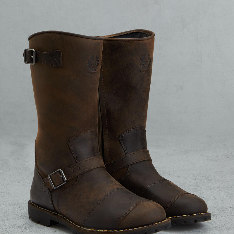 47800011-BR / ENDURANCE BOOTS (BLACK/BROWN)