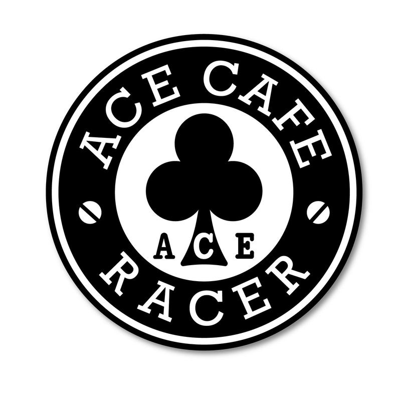 N020DE/ACE CAFE RACER デカール・Racerサークル・200