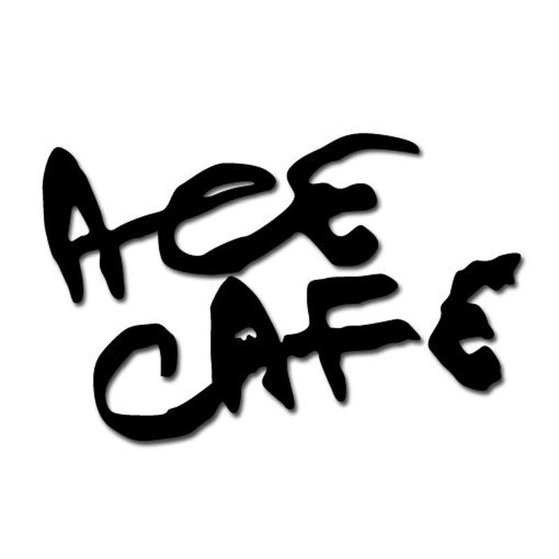 N013DE/ACE CAFE LONDON デカール ブラッシュフォント