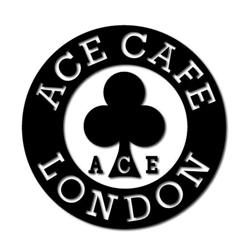 N014DE/ACE CAFE LONDON デカール サークル 70