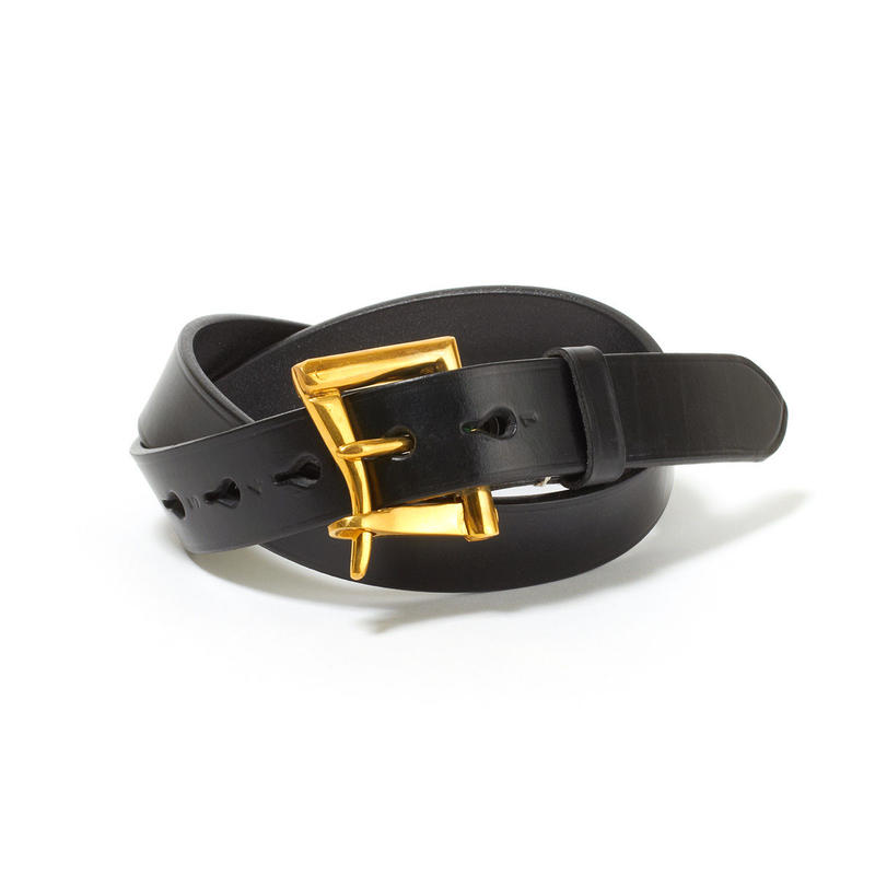 FIREMAN BUCKLE BELT / NEW BLACK