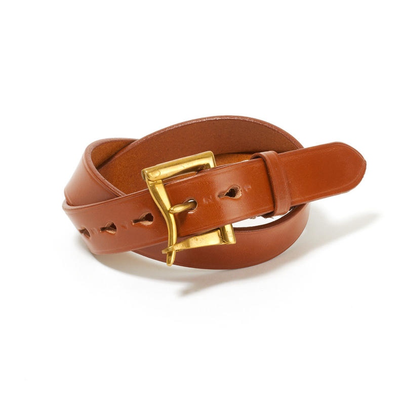 FIREMAN BUCKLE BELT / OXFORD TAN