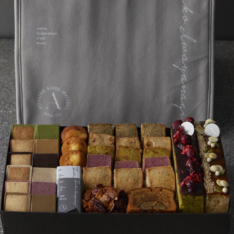 焼菓子詰合せとオリジナル保冷バッグセット