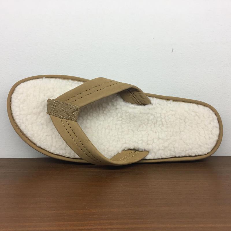 (レインボーサンダル)RAINBOW SANDALS 日本別注モデル The Cozy - Fleece Lined Sandals レザーフリース サンダル (601F-SRBR)