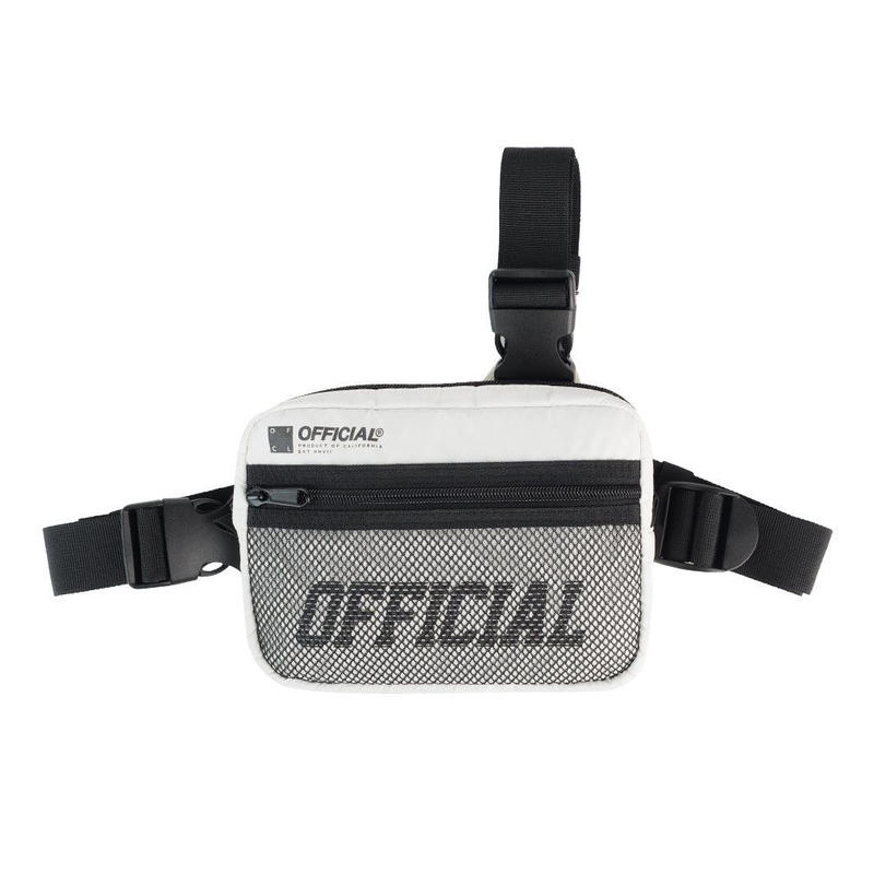 (オフィシャル)Official Melrose Tri-Strap Utility Bag (White) ショルダーバッグ