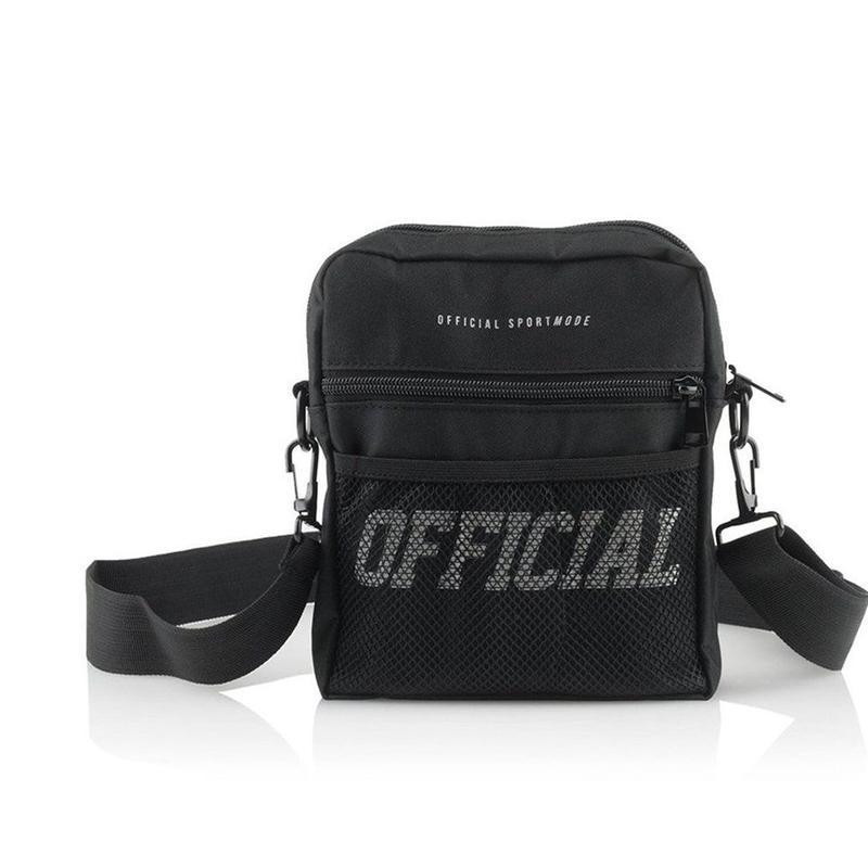 (オフィシャル)Official Melrose Hip Utility Bag (Black) ショルダーバッグ
