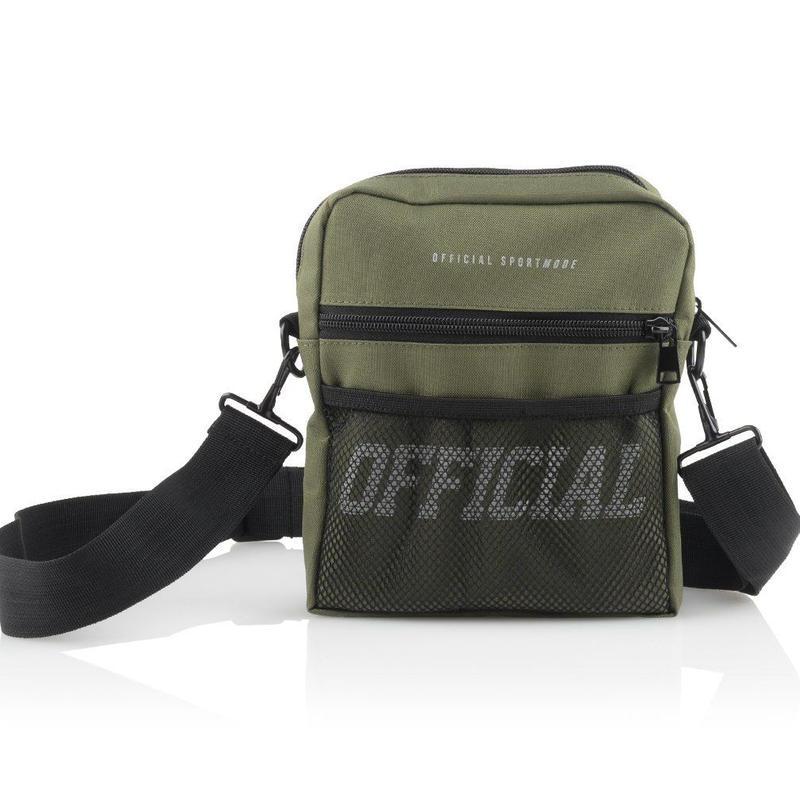 (オフィシャル)Official Melrose Hip Utility Bag (Olive) ショルダーバッグ
