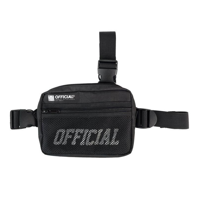 (オフィシャル)Official Melrose Tri-Strap Utility Bag (Black) ショルダーバッグ