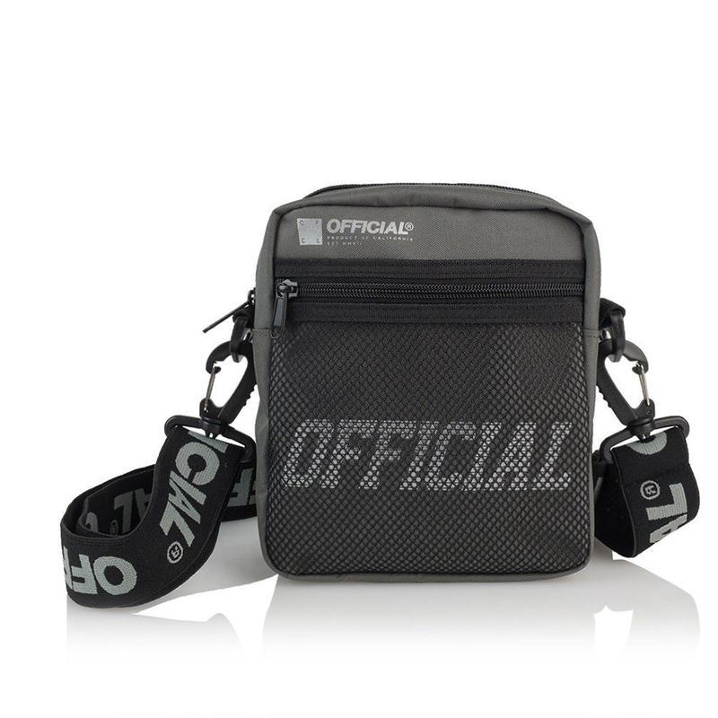 (オフィシャル)Official Tactical Utility Bag (Grey) ショルダーバッグ