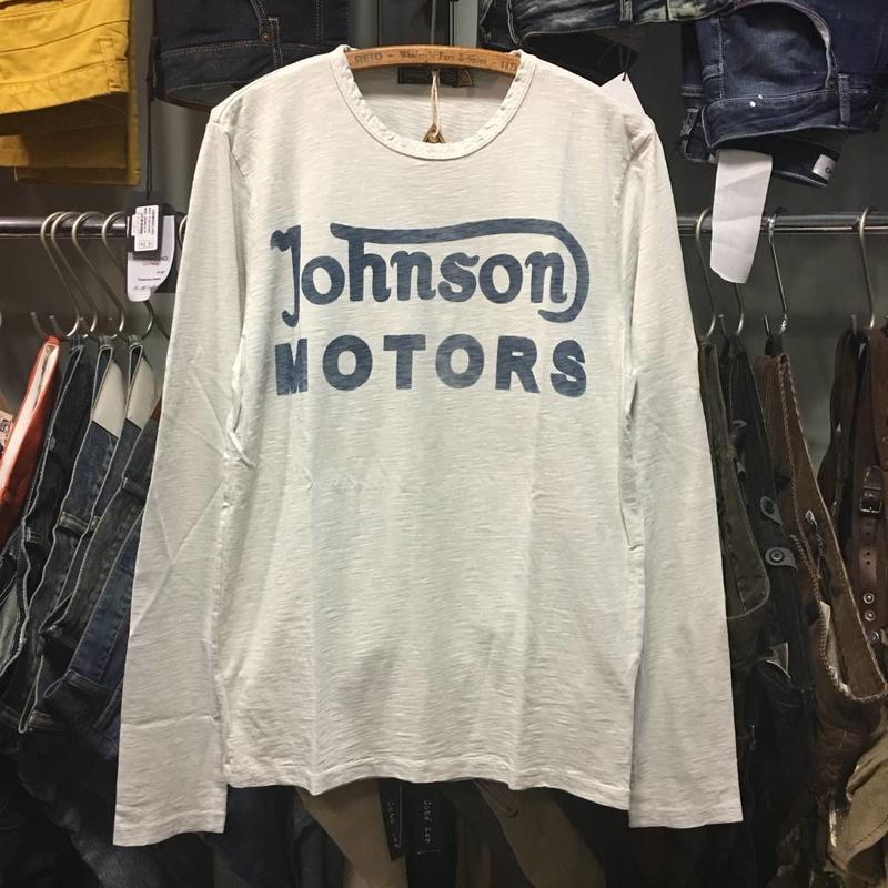 (ジョンソンモータース) Johnson Motors CLASSIC 38 長袖Tシャツ (MMLSWS13908)