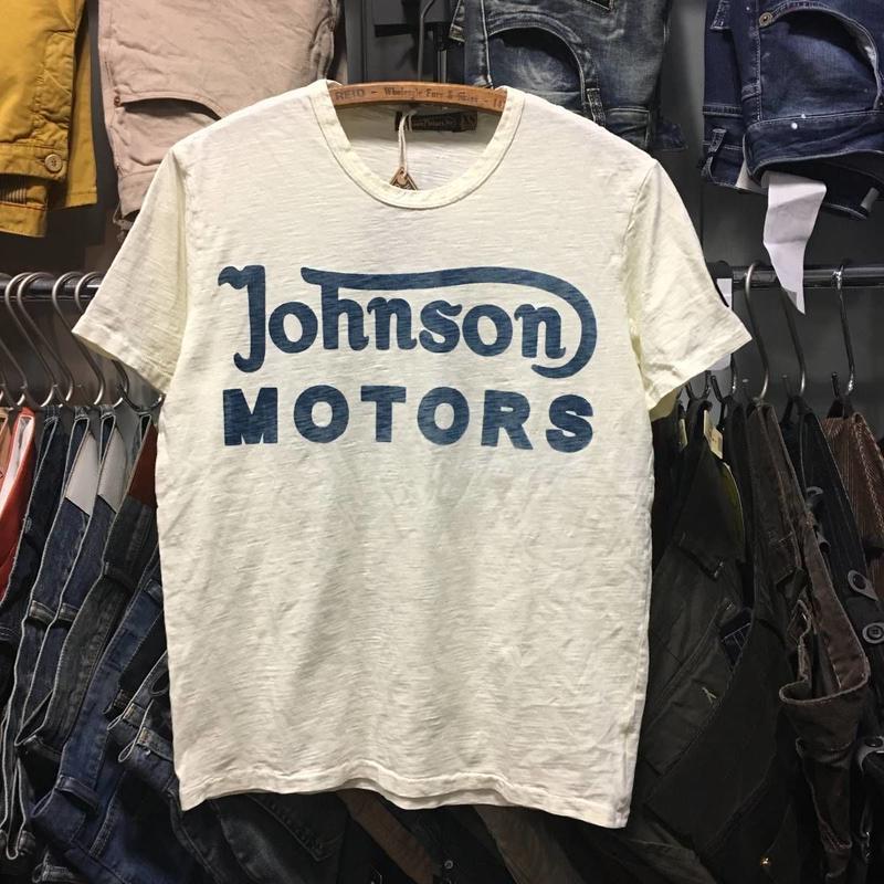 (ジョンソンモータース) Johnson Motors CLASSIC 38 半袖Tシャツ (MMTSDW13908)