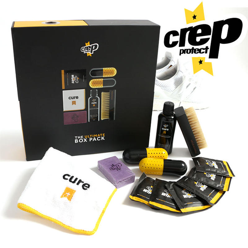 (クレップ プロテクト)Crep Protect (キューブボックス)Cube Box (シューケア用品・クリーナー・ブラシ・タオル・フレッシュナー・イレイサー)
