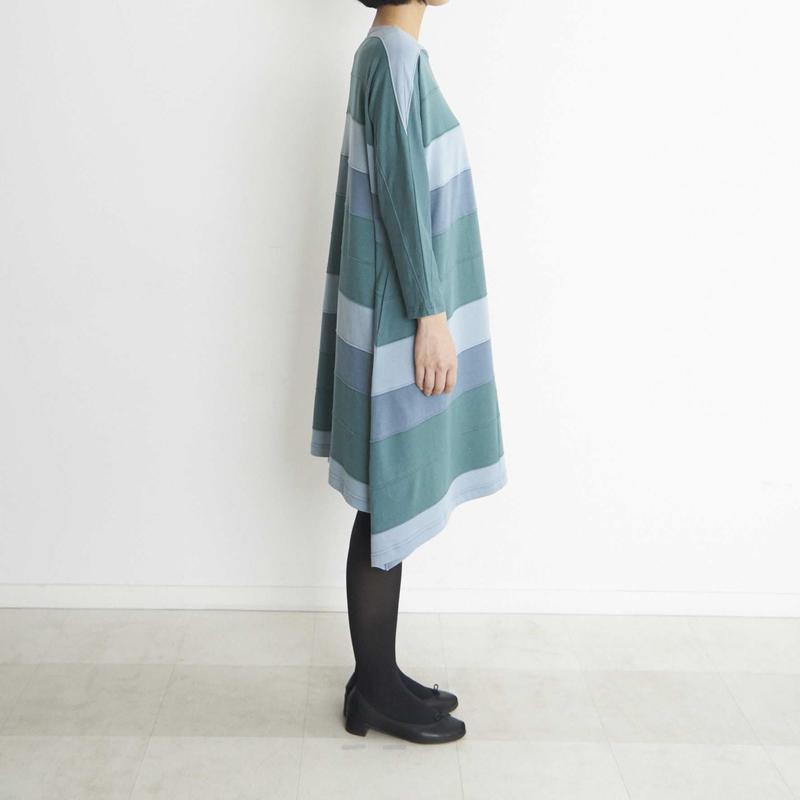 ドルマン袖ワンピース12段/ NO. 13