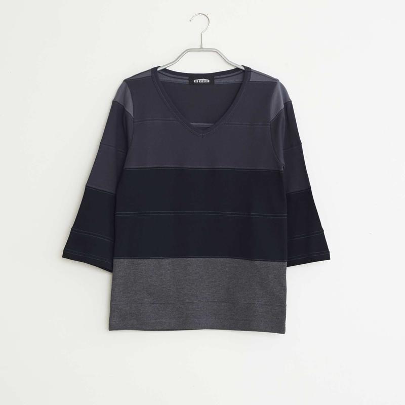 Vネック7分袖 / レディースS /  NO.13